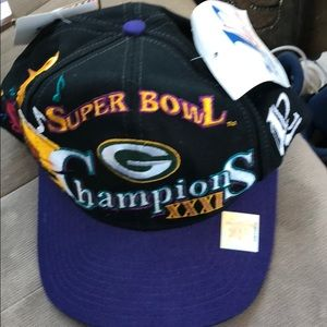 Accessories - Green Bay packers Super Bowl XXXI collectors Hat